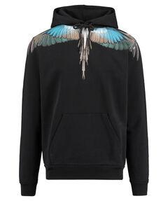 """Herren Kapuzensweatshirt """"Turquoise Wings"""""""