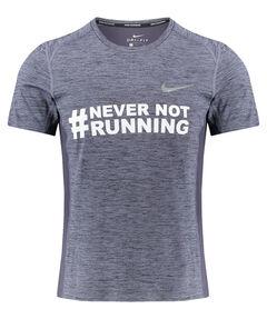 "Herren Laufshirt ""Never Not Running"" Kurzarm"