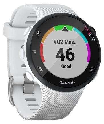 """Garmin - GPS-Laufuhr """"Forerunner 45 S"""" weißes Armband"""