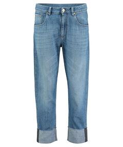 "Damen Jeans ""The Cropped Jean - Raw Edge"" verkürzt"