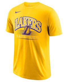 "Herren Basketballshirt ""Los Angeles Lakers"" Kurzarm"