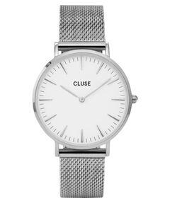 """Damen Armbanduhr """"La Bohème Mesh Silver/ White"""""""