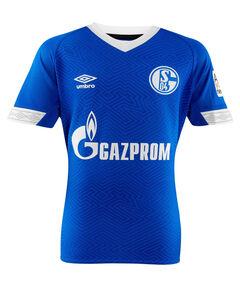 """Kinder Fußballtrikot """"18/19 FC Schalke 04 Home"""" Kurzarm"""
