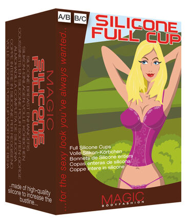 "Magic Bodyfashion - Damen Silikon Einlagen ""Silicone Full Cup"""