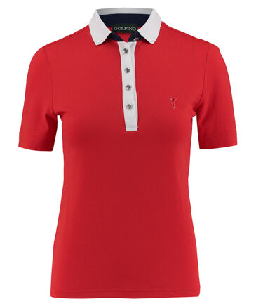 "Golfino - Damen Poloshirt ""Bubble Jacquard Short Sleeve Polo"" Kurzarm"