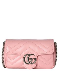 "Damen Umhängetasche ""GG Marmont Super Mini Crossbody"""