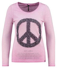 "Damen Shirt Langarm ""WLS Peace round"""