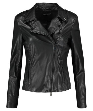 Repeat - Damen Lederjacke