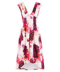 "Damen Kleid ""Blossom Print Midi Dress"" Ärmellos"