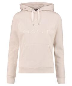 """Damen Sweatshirt """"Logo"""" mit Kapuze"""