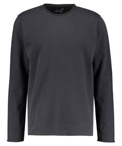 "Herren Sweatshirt ""Fleece Sweater Raw Edge"""