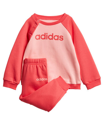 adidas Performance - Mädchen Baby/Kleinkind Trainingsanzug