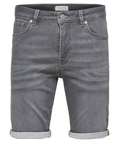 "Herren Jeansshorts ""SLHLucas 6121 Grey Knit Denim Shorts"""