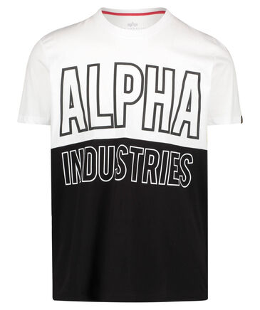"Alpha Industries - Herren T-Shirt ""Block-T"""