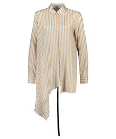 "Damen Seidenbluse ""Striped Sensation"" Langarm"