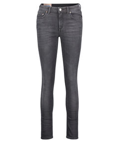 "Damen Jeans ""Climb Used Blk"" Slim Fit"