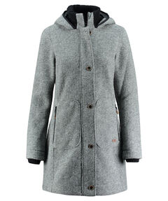 "Damen Fleecejacke ""Woman Coat Fix Hood"""