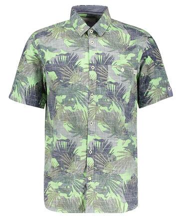 "Tom Tailor - Herren Hemd ""Ray Slub Print Shirt"" Regular Fit"