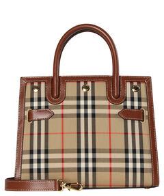 "Damen Umhängetasche ""Mini Vintage Check Title Bag"""
