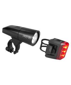 Fahrrad Beleuchtungsset Pro 18 black