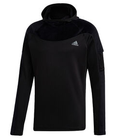 "Herren Laufshirt mit Kapuze ""Own the Run Warm Hoodie"""