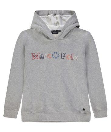 Marc O'Polo Junior - Mädchen Sweatshirt mit Kapuze