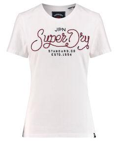 "Damen T-Shirt ""Royalty Script Rope Applique Entry Tee"""