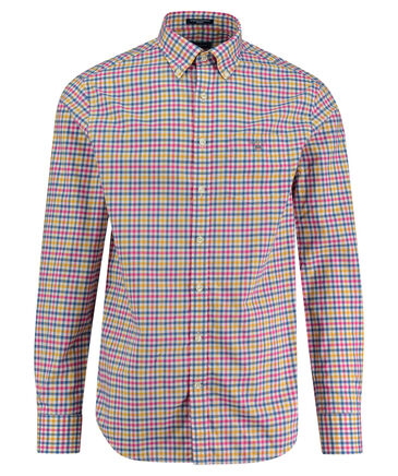 "Gant - Herren Hemd ""Broadcloth 3-Color Gingham"" Regular Fit Langarm"