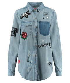 "Damen Jeansbluse ""Oversized Denim Shirt"""