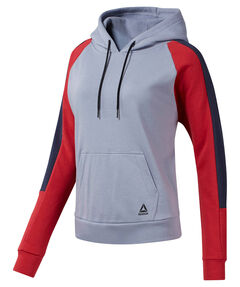 "Damen Sweatshirt mit Kapuze ""Wor Colorblocked Coverup"""