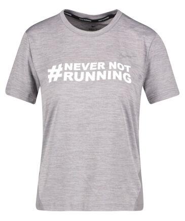 """Nike - Damen Running Shirt """"Nevernotrunning WMNS Miler"""""""