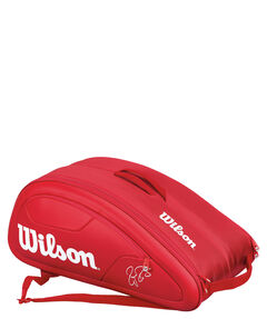 "Tennistasche ""Federer DNA 12 Pack Red"""