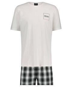 "Herren Pyjama ""Urban Short"" zweiteilig"