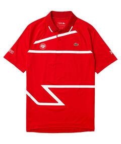 "Herren Tennispoloshirt ""French Open x Novak Djokovic"" Kurzarm"
