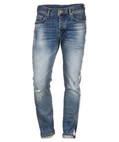 """Herren Jeans """"New Rocco Comfort Blue Denim"""" Regular Fit"""
