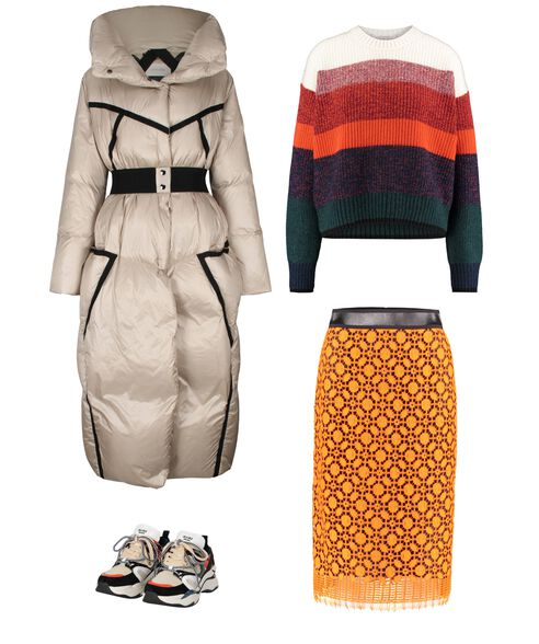 Outfit - Colorful Coziness