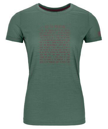 "Ortovox - Damen T-Shirt ""150 Cool Rules"""