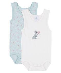 Mädchen Baby Body Zweierpack