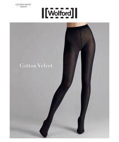 Damen Strumpfhose Blickdicht Cotton Velvet