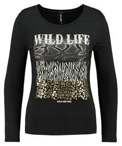 """Damen Shirt Langarm """"WLS WILDLIFE"""""""