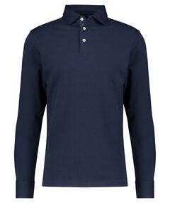 Herren Polo Shirt Langarm