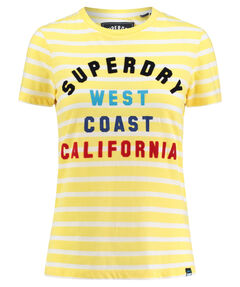 "Damen Shirt ""West Coast Stripe Entry Tee"" Kurzarm"