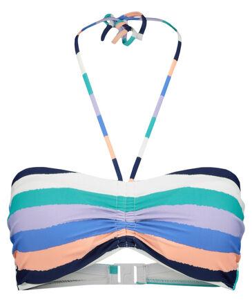 """Hot Stuff - Damen Bikini  Oberteil """"Big Stripes Bandeau"""""""