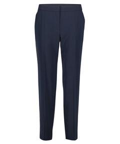 Damen Stoffhose Regular Fit Mid Waist 7/8-Länge