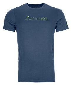 """Herren T-Shirt """"185 Merino Wool T-Shirt"""" Kurzarm"""
