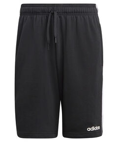 "Herren Trainingsshorts ""Essentials 3-Streifen French Terry"""