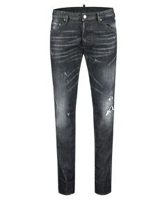 """Herren Jeans """"Cool Guy Black Washed Denim"""" Skinny Fit"""