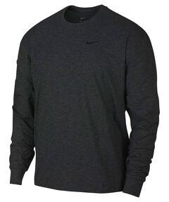 Herren Fitness-Shirt Langarm