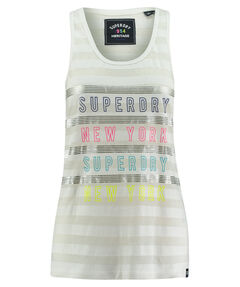 """Damen Tanktop """"SD NYC Burnout Stripe Entry Vest"""""""