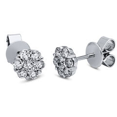 Damen Diamantohrstecker